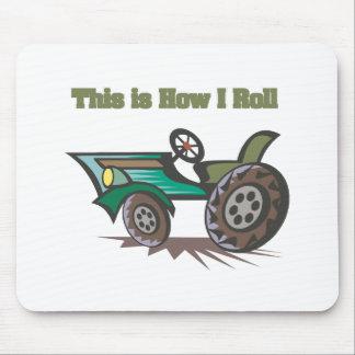 Cómo ruedo (el tractor) tapete de ratón