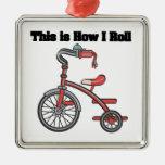 Cómo ruedo (el triciclo) adorno