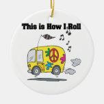 Cómo ruedo (Hippie Van) Ornamentos Para Reyes Magos