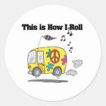 Cómo ruedo (Hippie Van) Etiqueta