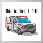 Cómo ruedo la ambulancia poster