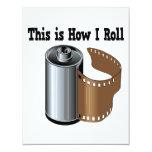 Cómo ruedo la película de la cámara comunicados personalizados