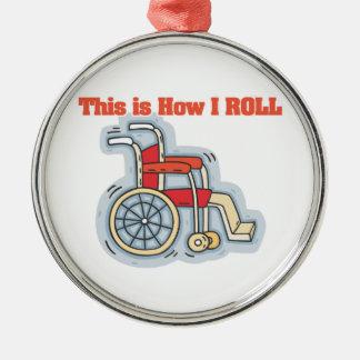 Cómo ruedo (la silla de ruedas) adornos
