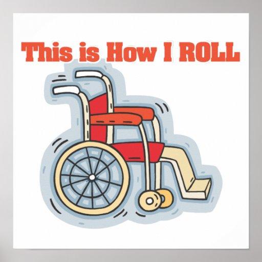 Cómo ruedo (la silla de ruedas) póster