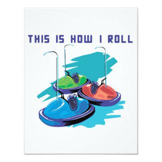 Cómo ruedo (los coches de parachoques) comunicados
