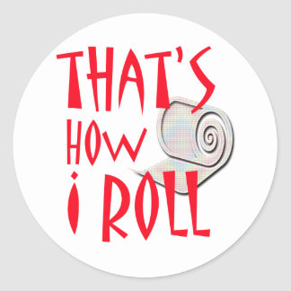Cómo ruedo pegatina redonda