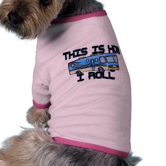 Cómo ruedo rv camisas de perritos