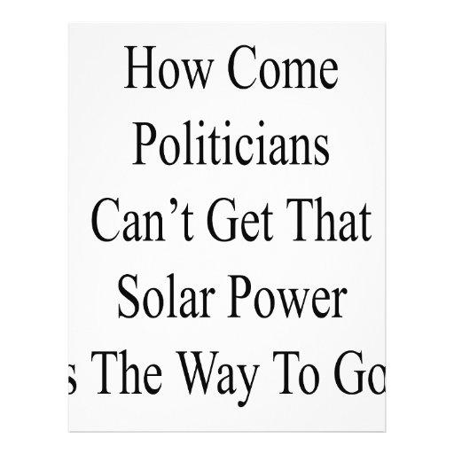Como se hace los políticos no pueden conseguir que tarjeta publicitaria