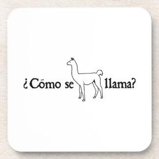 Como Se Llama? Beverage Coaster