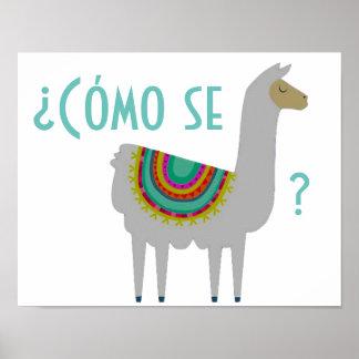 Cómo Se Llama Poster