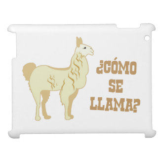 Como Se Llama?  What is your name? Cover For The iPad