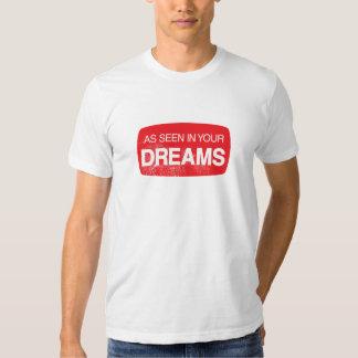 Como se ve en sus sueños playeras