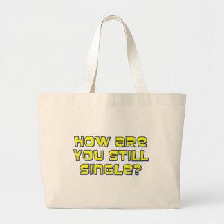 Cómo sea usted todavía escoge bolsa tela grande