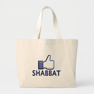 Como Shabbat Bolsa Tela Grande