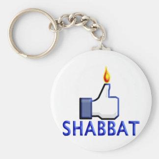 Como Shabbat Llavero Redondo Tipo Pin