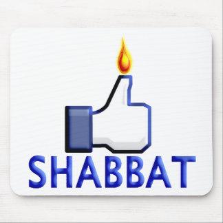 Como Shabbat Tapete De Ratones