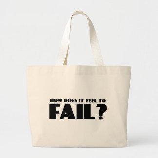 ¿Cómo siente PARA FALLAR Bolsa
