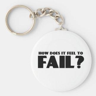 ¿Cómo siente PARA FALLAR? Llaveros