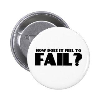 ¿Cómo siente PARA FALLAR Pin