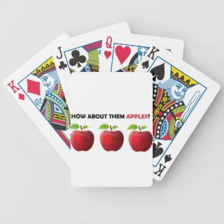 ¿Cómo sobre ellos manzanas? Barajas De Cartas