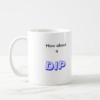 cómo sobre una inmersión tazas de café