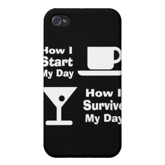 Cómo sobrevivo el caso del iPhone personalizado iPhone 4 Protector