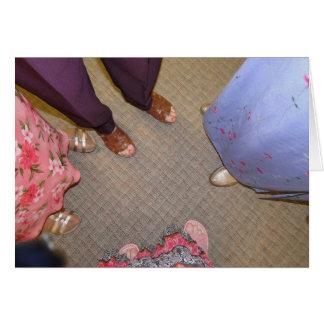 Cómo son hermosos son los pies---Buenas noticias Tarjeta Pequeña