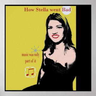 Cómo Stella iba mala Póster
