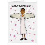 Como su ángel de guarda. tarjetas