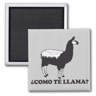 Como Te Llama 2 Inch Square Magnet