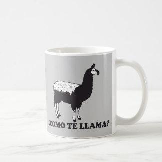 Como Te Llama Classic White Coffee Mug
