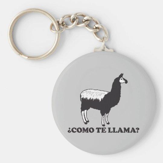 Como Te Llama Keychain