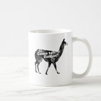 Como te llamas? Coffee Mug