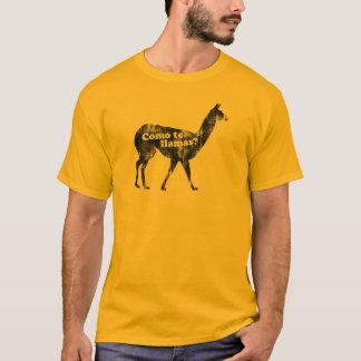 Como te llamas? T-Shirt