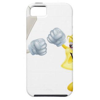 Como tiza y queso iPhone 5 protector