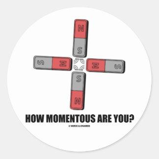 ¿Cómo trascendental es usted Momento de tetrapol Etiquetas