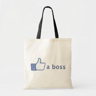 Como un bolso de Boss Bolsa Tela Barata
