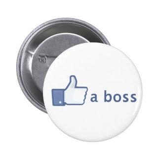 Como un botón de Boss