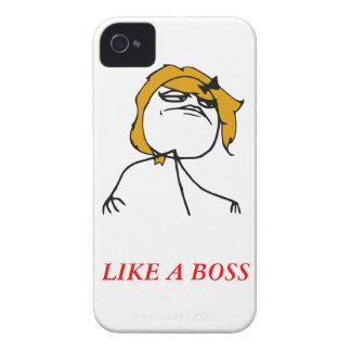Como un caso de Meme del iPhone 4 del chica del je iPhone 4 Case-Mate Fundas