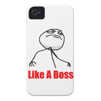 Como un caso de Meme del iPhone 4 del jefe iPhone 4 Funda
