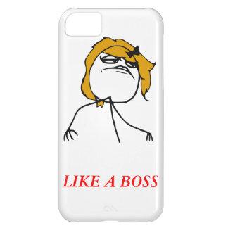 Como un caso de Meme del iPhone 5 del chica del je Funda Para iPhone 5C