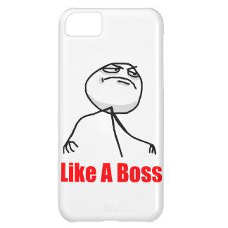 Como un caso de Meme del iPhone 5 del jefe Funda Para iPhone 5C