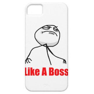 Como un caso de Meme del iPhone 5 del jefe iPhone 5 Carcasa