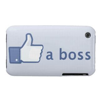 Como un caso del iPhone de Boss iPhone 3 Case-Mate Cárcasa