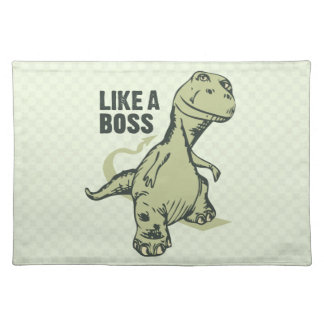 Como un dinosaurio de Boss Mantel Individual