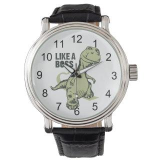 Como un dinosaurio de Boss Relojes De Mano