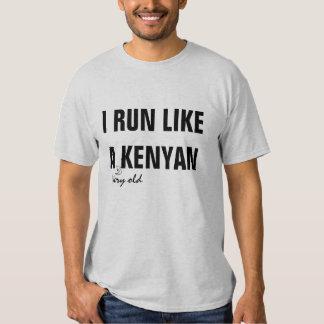Como un Kenyan Playeras