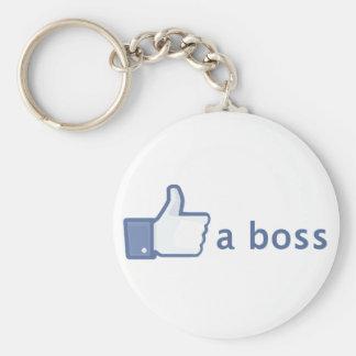 Como un llavero de Boss