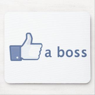 Como un mousepad de Boss
