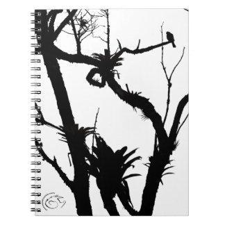 Como un pájaro en un árbol libro de apuntes